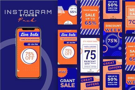Sale Promotion - Social Media Stories + Post