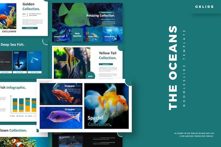 Thumbnail for The Ocean - Google Slides Template