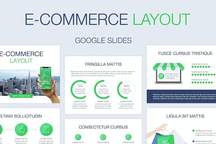 Thumbnail for E-Commerce Google Slides Template