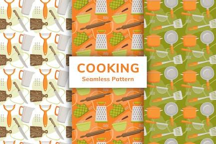 Nahtloses Muster kochen