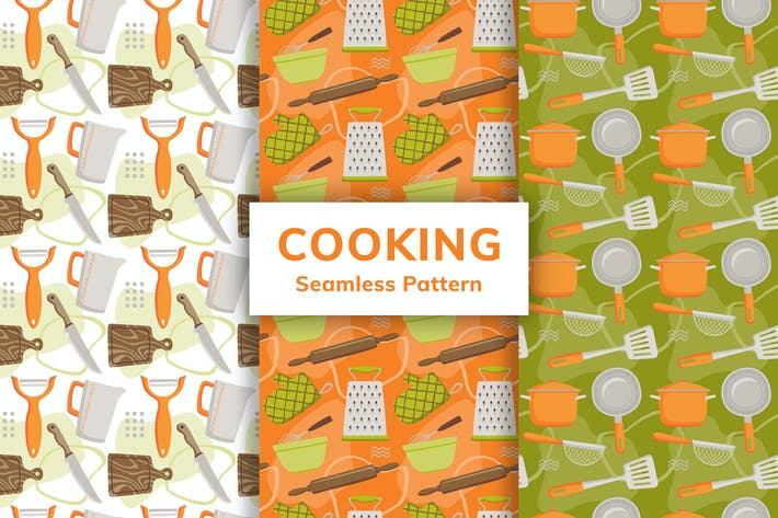 Thumbnail for Cooking Seamless Pattern