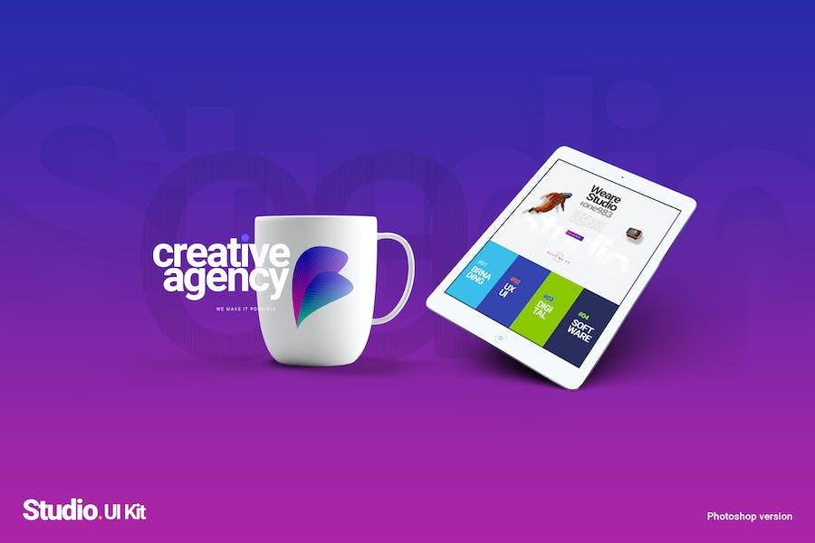 STUDIO | A Creative Agency Multipurpose UI kit