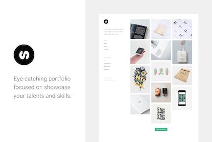 Sonex — Minimalistic Portfolio