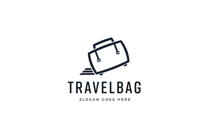 Thumbnail for Travel Bag Logo Template