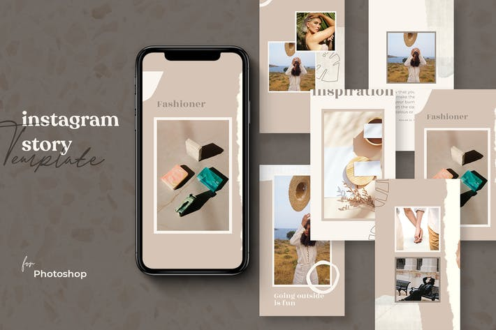 Thumbnail for Fashion Inspiration IG Story Template Vol-25