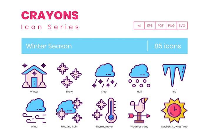 Thumbnail for Icons der Wintersaison