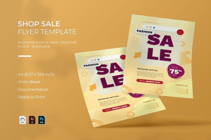 Shop Sale | Flyer