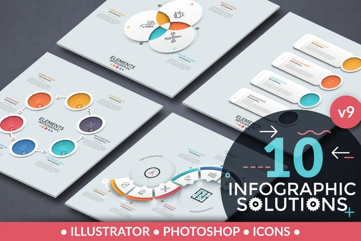Thumbnail for Infographic Solutions. Part 9