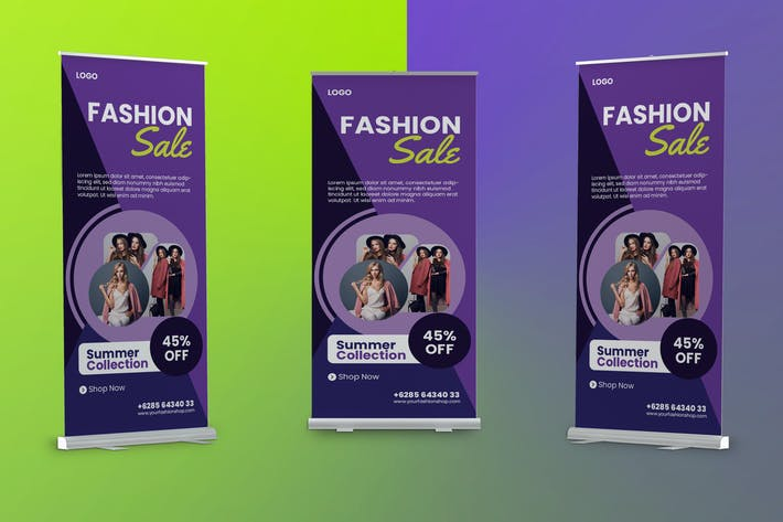 Thumbnail for Fashion Roll Banner