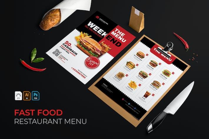 Thumbnail for Fast Food | Restaurant Menu