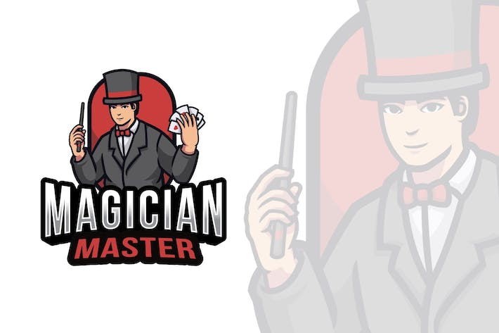 Thumbnail for Magician Master Logo Template