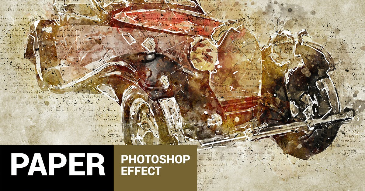 Download Papyrum - Vintage Grunge Photoshop Action by profactions