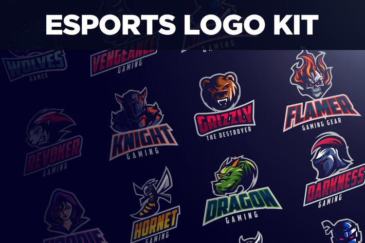 Cover Image For Esports Logo Kit