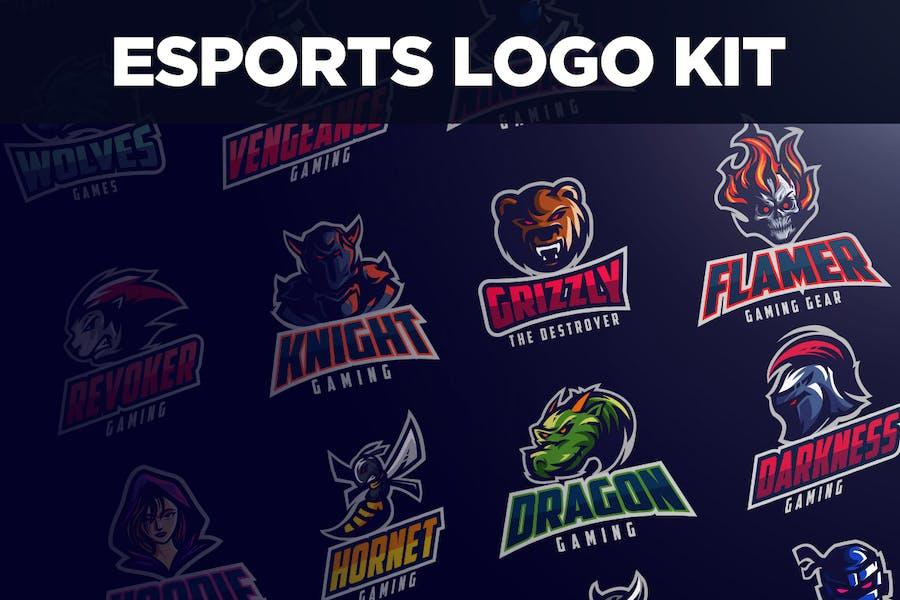 Kit de Logo de Esports
