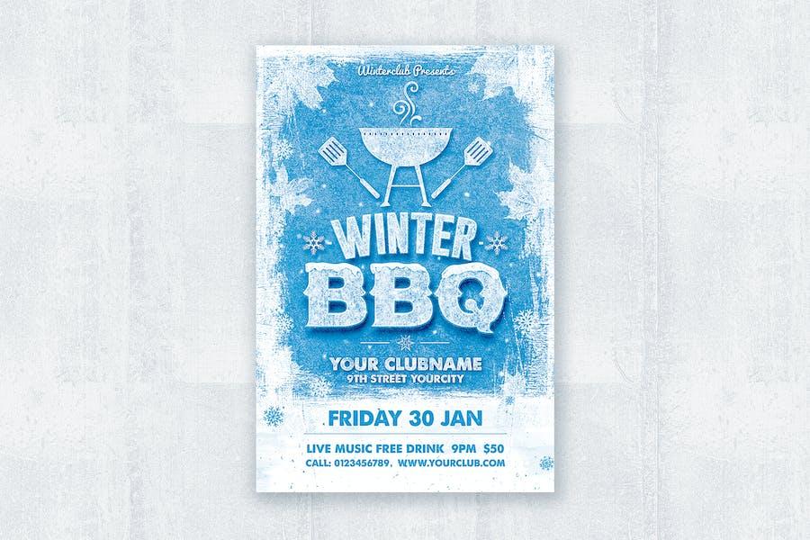 Fête BBQ d'hiver
