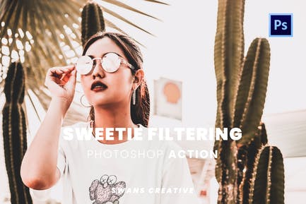 Sweetie Filtering Photoshop Action