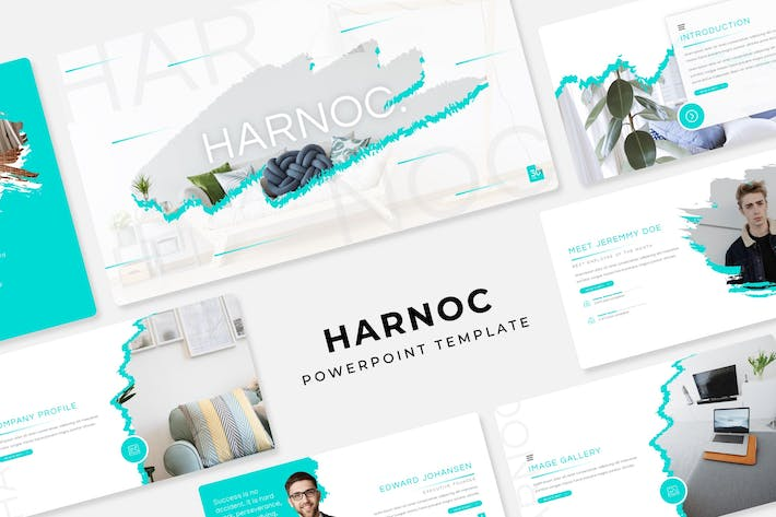 Thumbnail for Harnoc - PowerPoint Template
