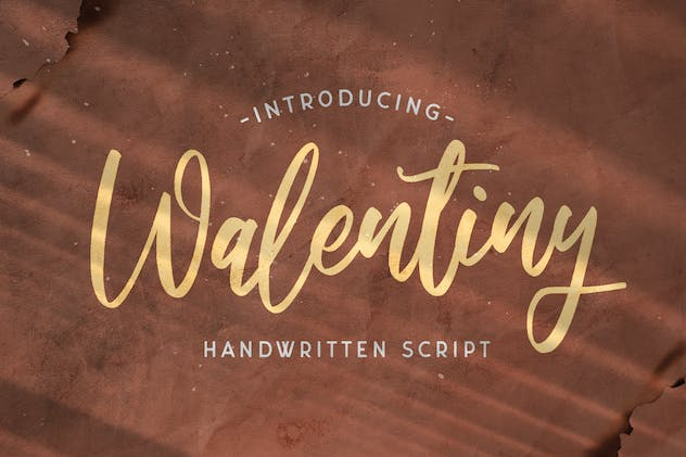Walentiny - Handwritten Font - product preview 14