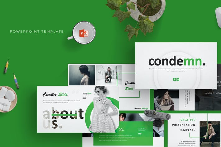 Thumbnail for Codemn - Powerpoint Template