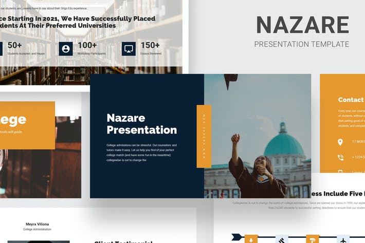 Thumbnail for Nazare - College Admission Services Google Slides