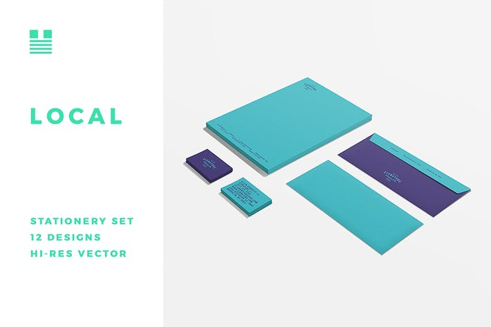 Thumbnail for Local Stationery Template