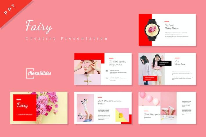 Thumbnail for Fairy - Plantilla de Presentación PowerPoint Creativo