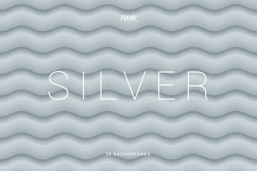 Silver   Soft Abstract Wavy Backgrounds