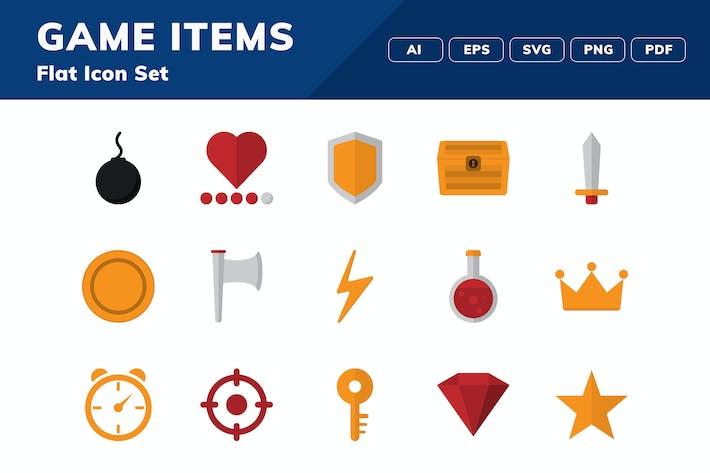 Thumbnail for Набор значков игровых предметов