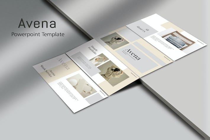 AVENA - Мода Powerpoint Шаблон