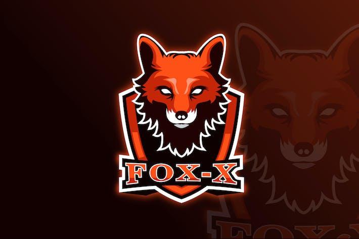 Thumbnail for Fox-x Mascot & eSports Gaming Logo