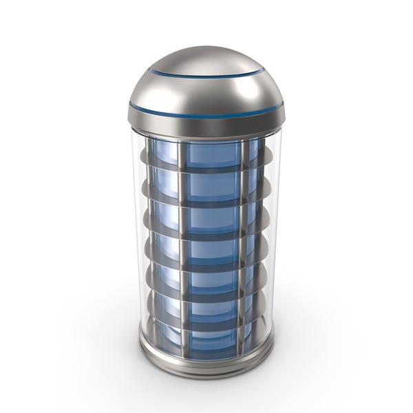 Thumbnail for Cartucho químico azul