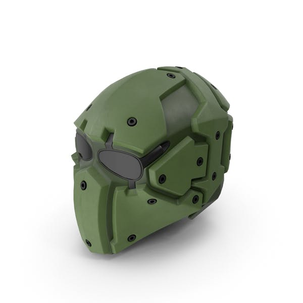 Kevlar Tactical Mask Olive