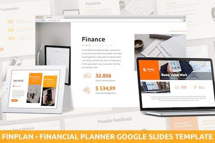 Finplan - Financial Planner Google Slides Template