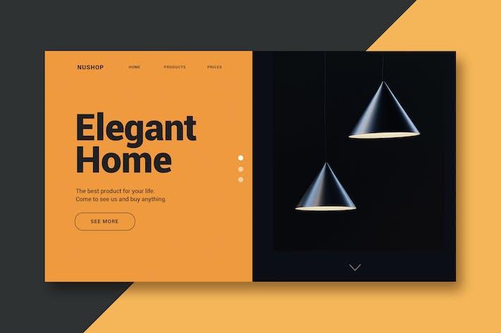 Thumbnail for Elegant Home - Página de inicio