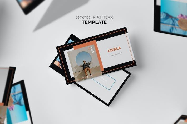Thumbnail for Civala : Summer Fashion Google Slides Template