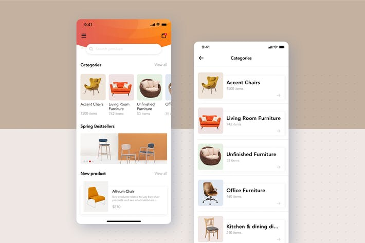 Thumbnail for Furniture App category listing