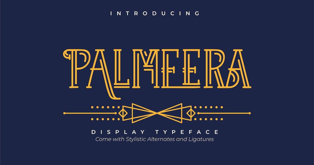Download Palmeera | Display Typeface by Vunira
