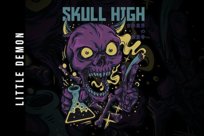 Thumbnail for Skull High Design