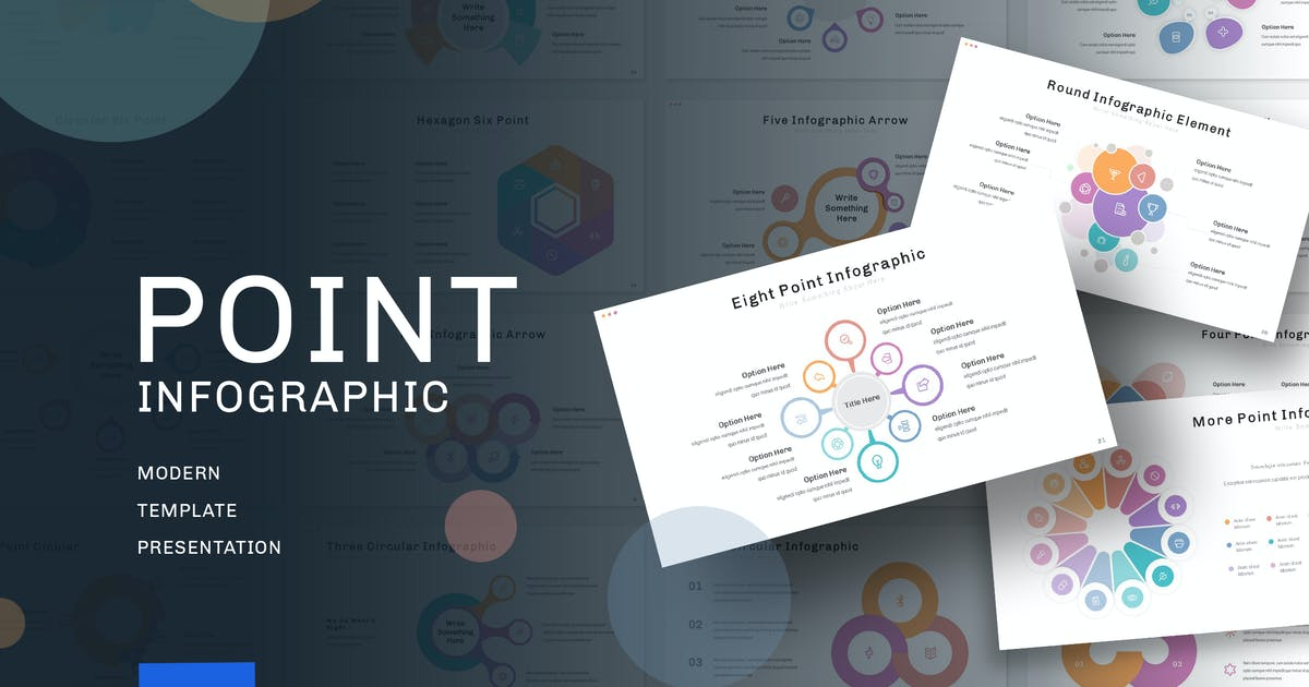Download Point Graphic - Keynote Template by jegtheme