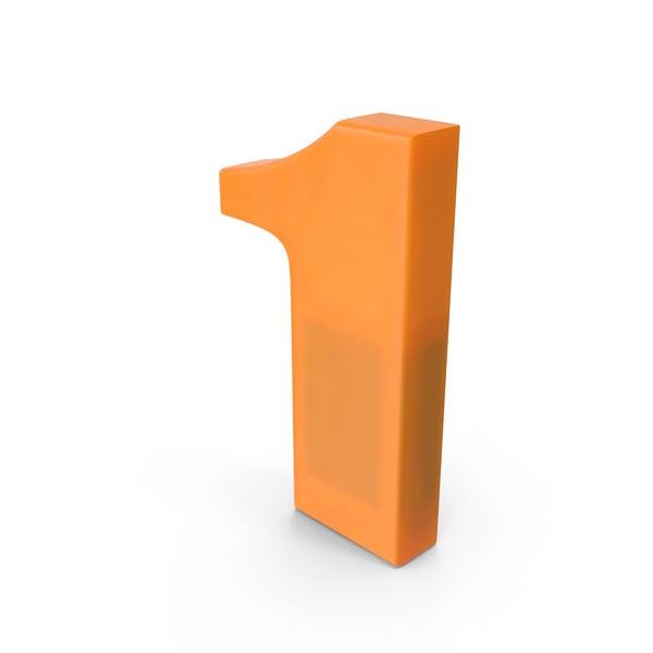 Thumbnail for Number 1 Fridge Magnet