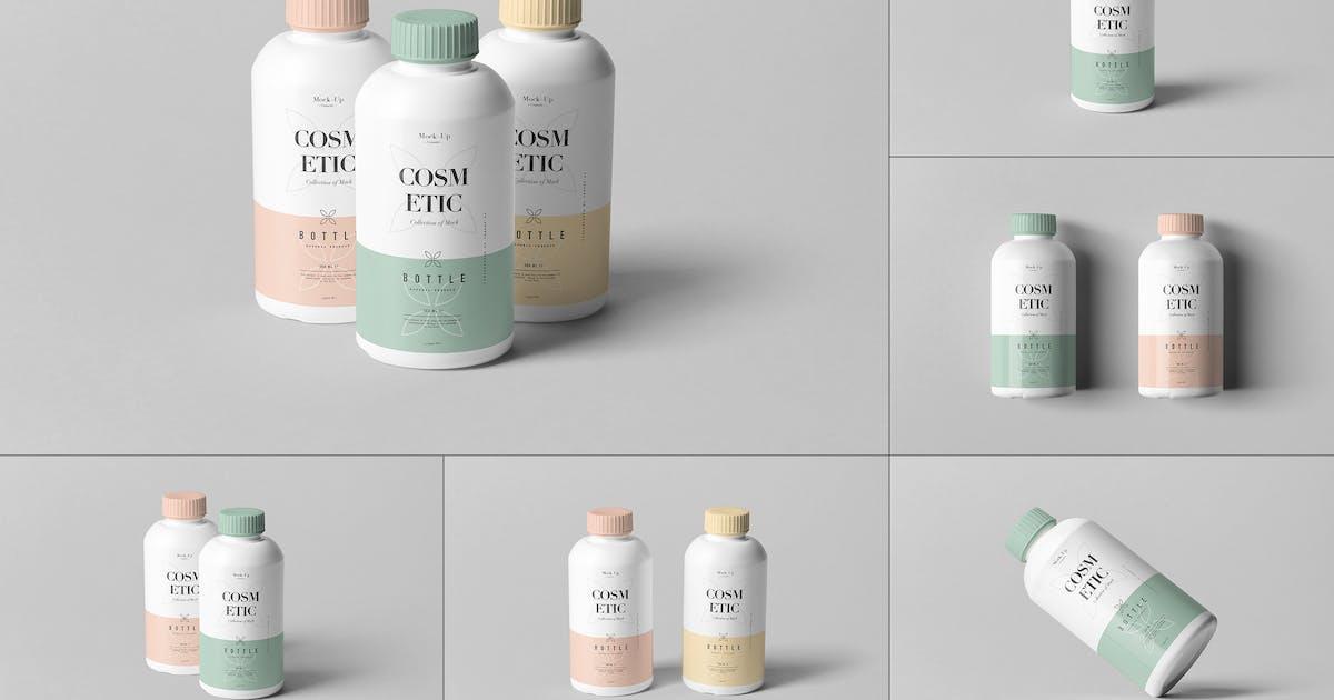 Download Cosmetic Bottle Mock-up 4 by yogurt86