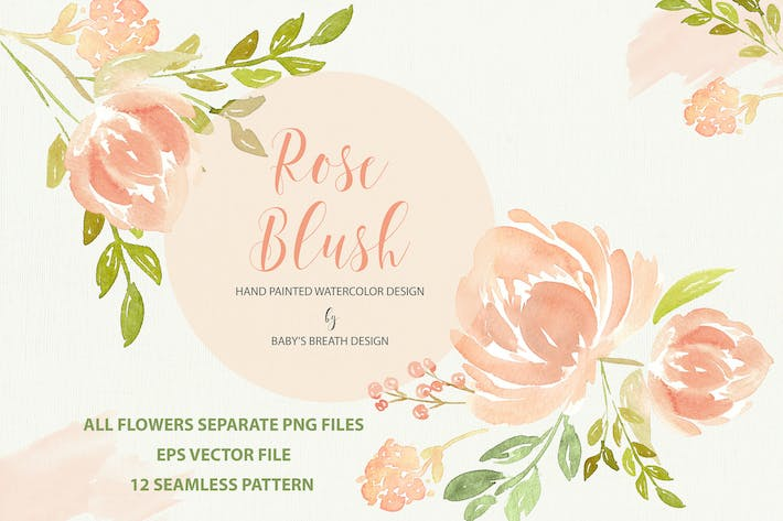 Thumbnail for Rose Blush design