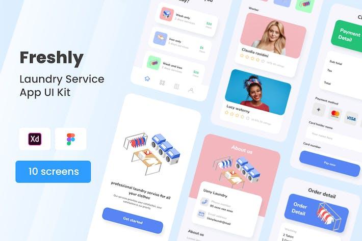 Freshly - Laundry Service Mobile App