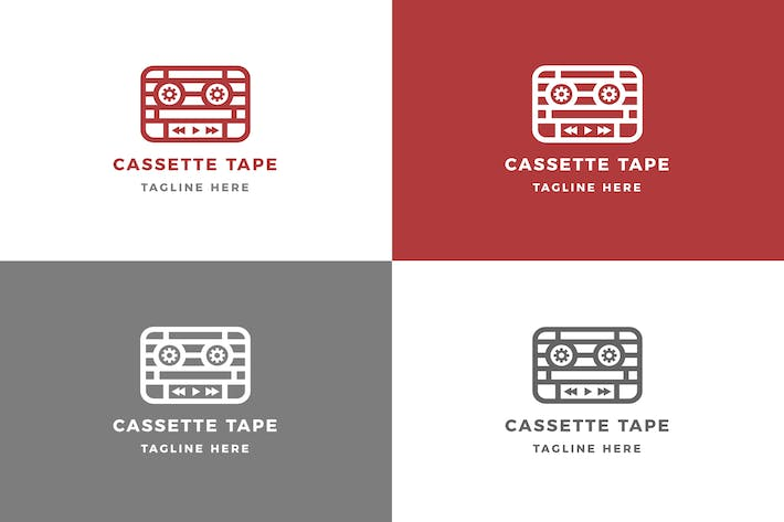 Thumbnail for Cassette - Logo Template