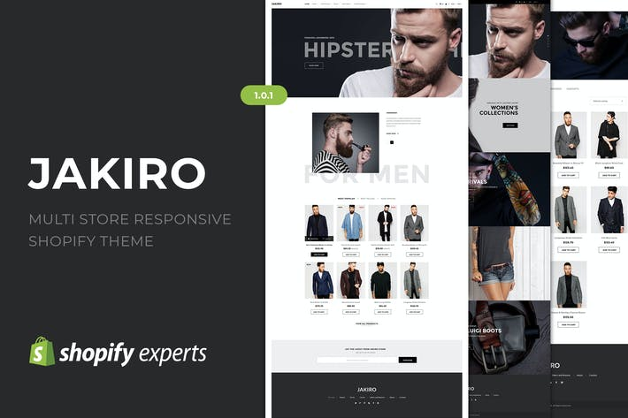 Thumbnail for Jakiro | Multi Boutique Responsive Shopify Thème