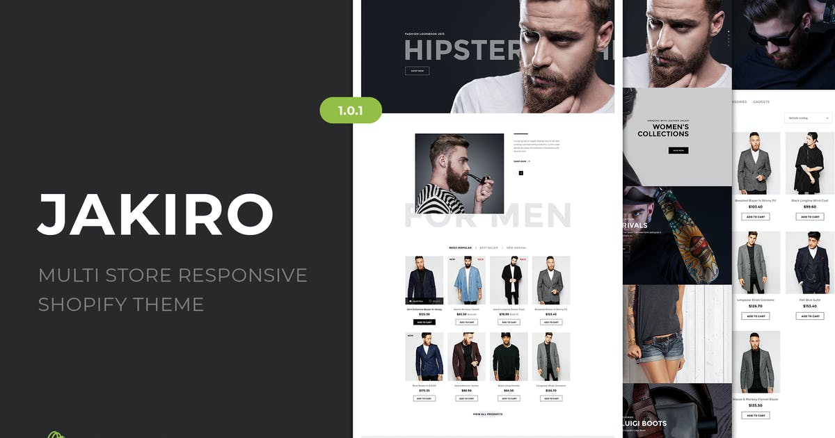 Download Jakiro | Multi Store Responsive Shopify Theme by EngoTheme