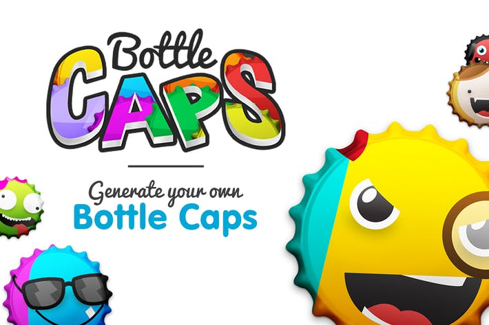 Thumbnail for BottleCaps - Bottle Cap Generator