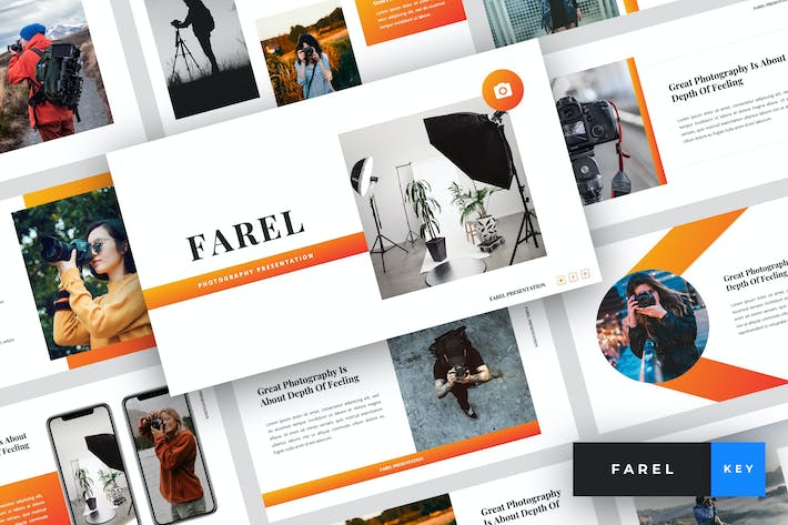 Thumbnail for Farel - Photography Keynote Template