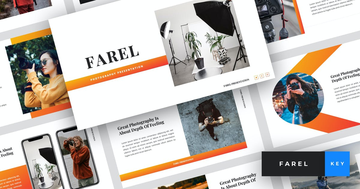 Download Farel - Photography Keynote Template by StringLabs