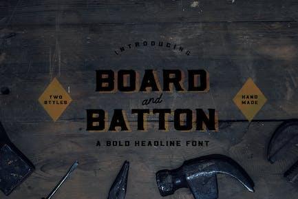 Panel + Batton
